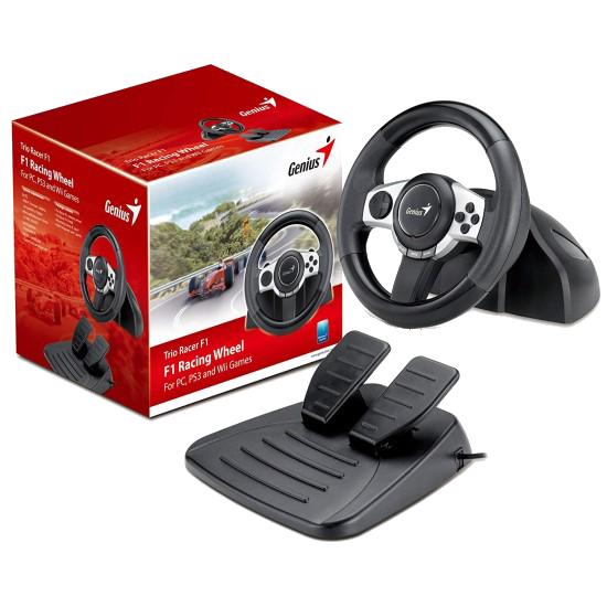 Genius TRIO RACER F1 Racing Wheel