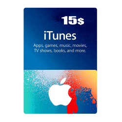 Apple iTunes Gift Card North America 15 USD iTunes