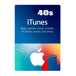 Apple iTunes Gift Card North America 40 USD iTunes