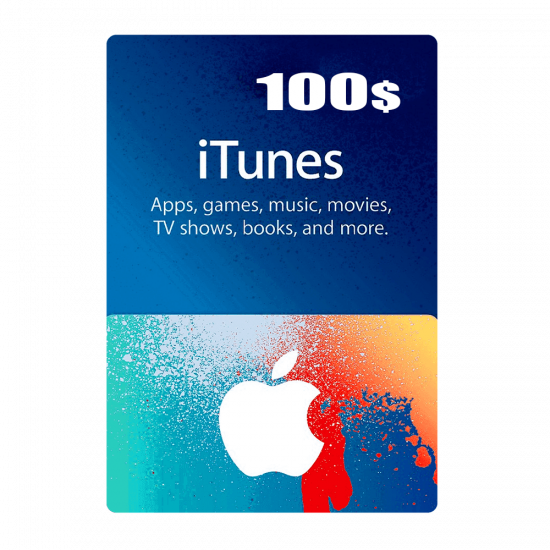 Apple iTunes Gift Card North America 100 USD iTunes