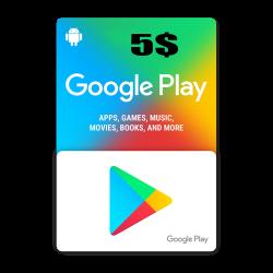 Google Play 5$ USA