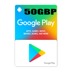 Google Play 50$ GBP