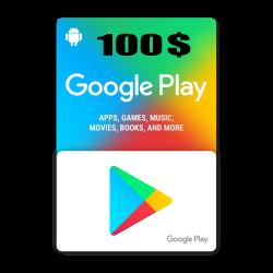 Google Play 100$ USA