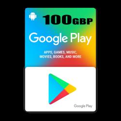 Google Play 100$ GBP