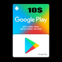 Google Play 10$ USA