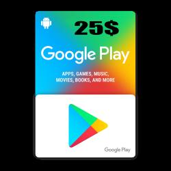 Google Play 25$ USA