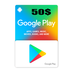 Google Play 50$ USA