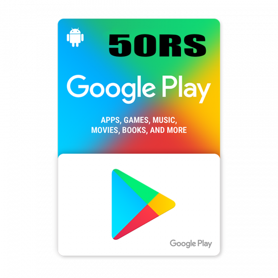 Google Play 50$ RS