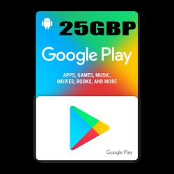 Google Play 25$ GBP