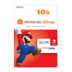 Nintendo E-Shop 10 USD Card