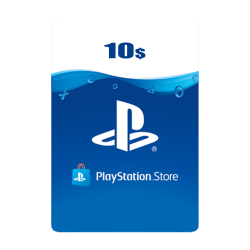 Kuwait PSN Wallet Top-up 10 USD