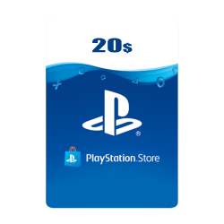 USA PSN Wallet Top-up 20 USD