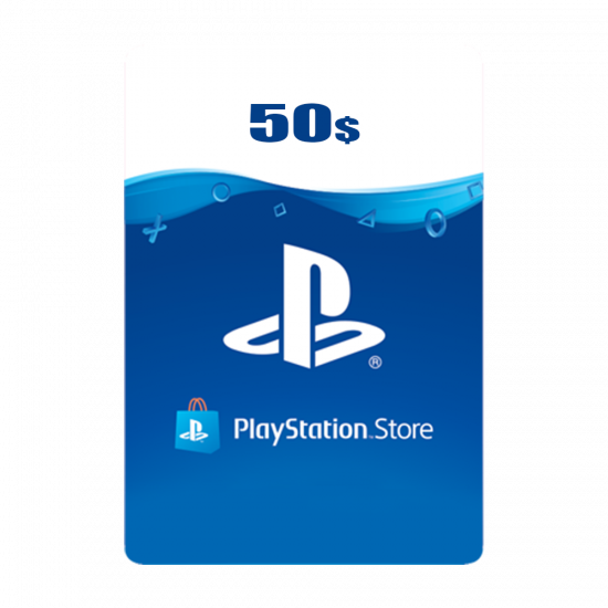 USA PSN Wallet Top-up 50 USD