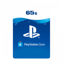 UK PSN Wallet Top-up 65 USD