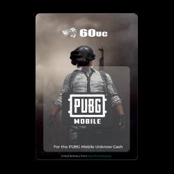 PUBG Mobile - 60 UC  (Digital Code)
