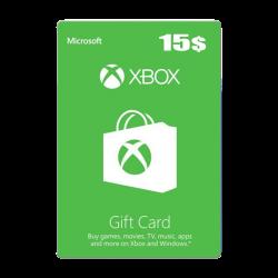 Xbox 15 USD Gift Card - US Digital Code
