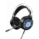 H120 Wired Stereo Gaming Headset With Folding Microphone