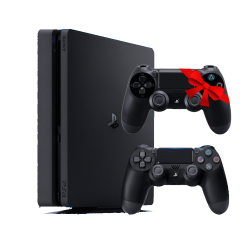 Sony Playstation 4 -500GB R2 & Controller Copy