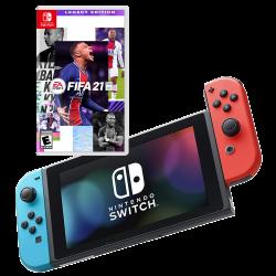 Nintendo Switch & FIFA 21 Legacy Edition