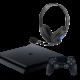PS4 Slim 1TB & Gaming Headphones