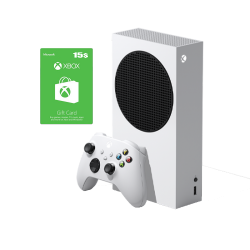Xbox Series S & 15 USD Gift Card