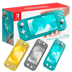 Nintendo Switch Lite three colors