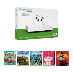 Xbox One S All-Digital Edition - 1Tb & Offline package