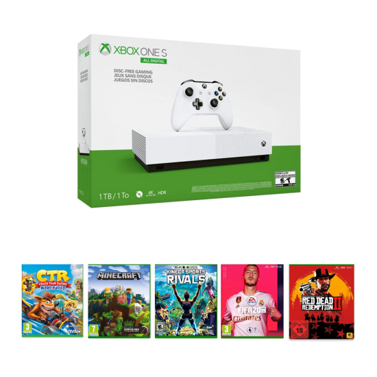 Xbox One S All-Digital Edition - 1Tb & Online package