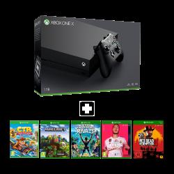 Microsoft Xbox One X - 1Tb & Online package