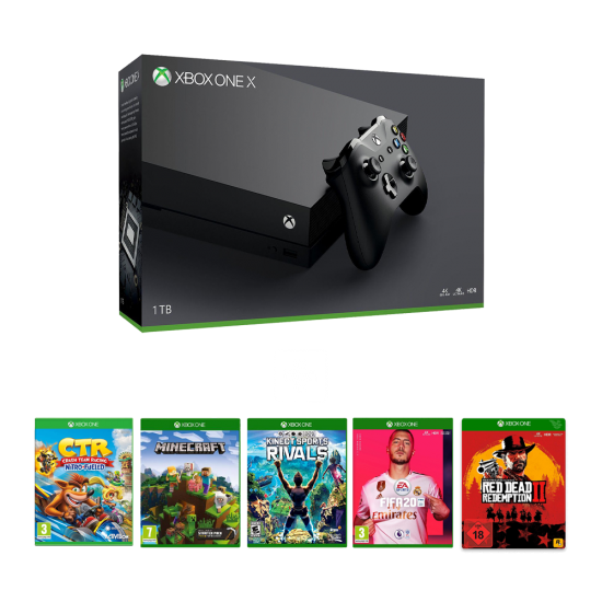 Microsoft Xbox One X - 1Tb & Online package