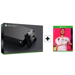 Microsoft Xbox One X - 1Tb & CD Fifa 2020 English