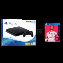 Sony Playstation 4 Slim - 1TB & Fifa2020 arabic