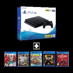 Sony Playstation 4 Slim - 500 GB & Offline package