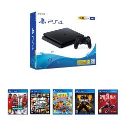 Sony Playstation 4 Slim - 500 GB & Online & Offline  package