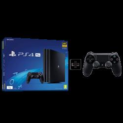 Sony Playstation 4 Pro 1TB Black & 1 Controller Copy
