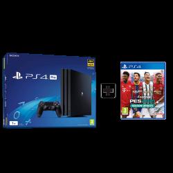 Sony Playstation 4 Pro 1TB Black & Pes2021