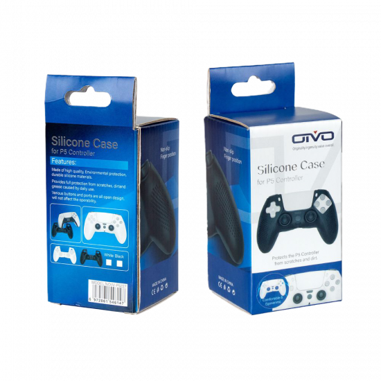 OIVO SILICONE CASE FOR PS5 CONTROLLER [BLACK]