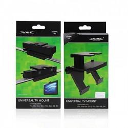 DOBE Universal TV Mount Holder Stand Bracket for Playstation Eye-XBOX 360-Wii-Wii U-XBOX ONE Kinect Camera-TYX-530