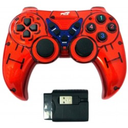 EXTRA EX-WL2023PUP 5 IN 1 WIRELESS GAMEPAD–RED