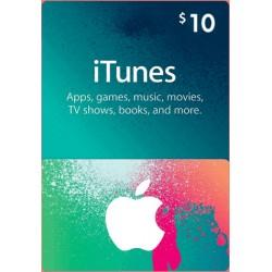 Apple iTunes Gift Card North America 10 USD iTunes