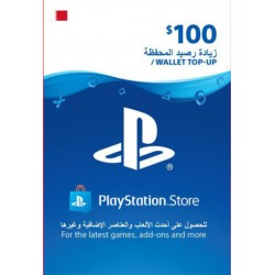 Bahrain PSN Wallet Top-Up 100 USD