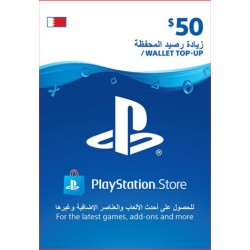 Bahrain PSN Wallet Top-up 50 USD