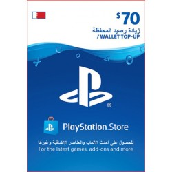 Bahrain PSN Wallet Top-up 70 USD