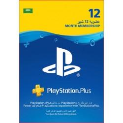 KSA PlayStation Plus: 12 Month Membership