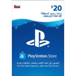 Oman PSN Wallet Top-up 20 USD