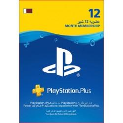 Qatar PlayStation Plus: 12 Month Membership