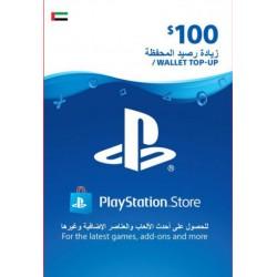 UAE PSN Wallet Top-up 100 USD