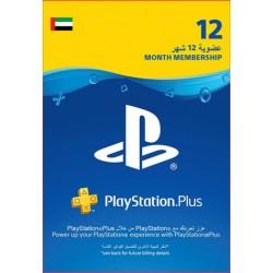 UAE PlayStation Plus: 12 Month Membership