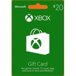 Xbox 20 USD Gift Card - US Digital Code
