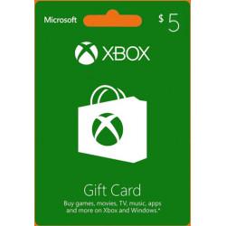 Xbox 5 USD Gift Card - US Digital Code